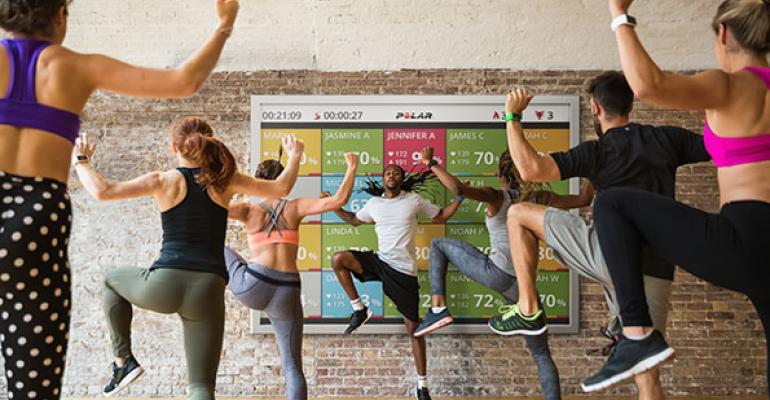 โซนการฝึกซ้อมและการออกกำลังกาย